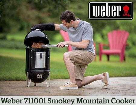 Weber smoker